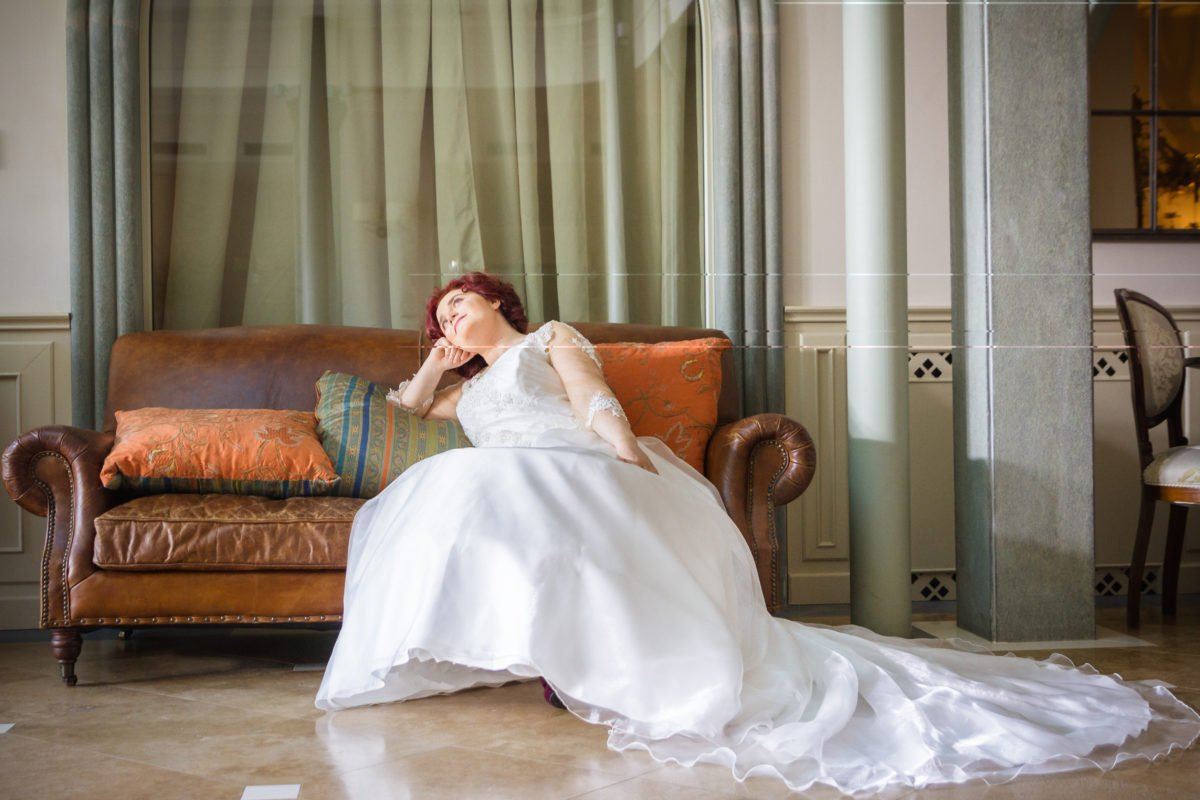 strascico abito da sposa