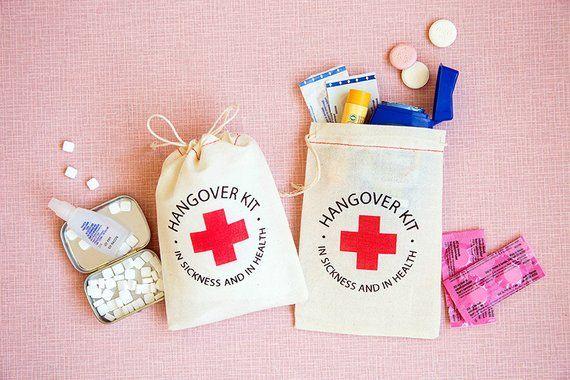 kit d'emergenza per la sposa